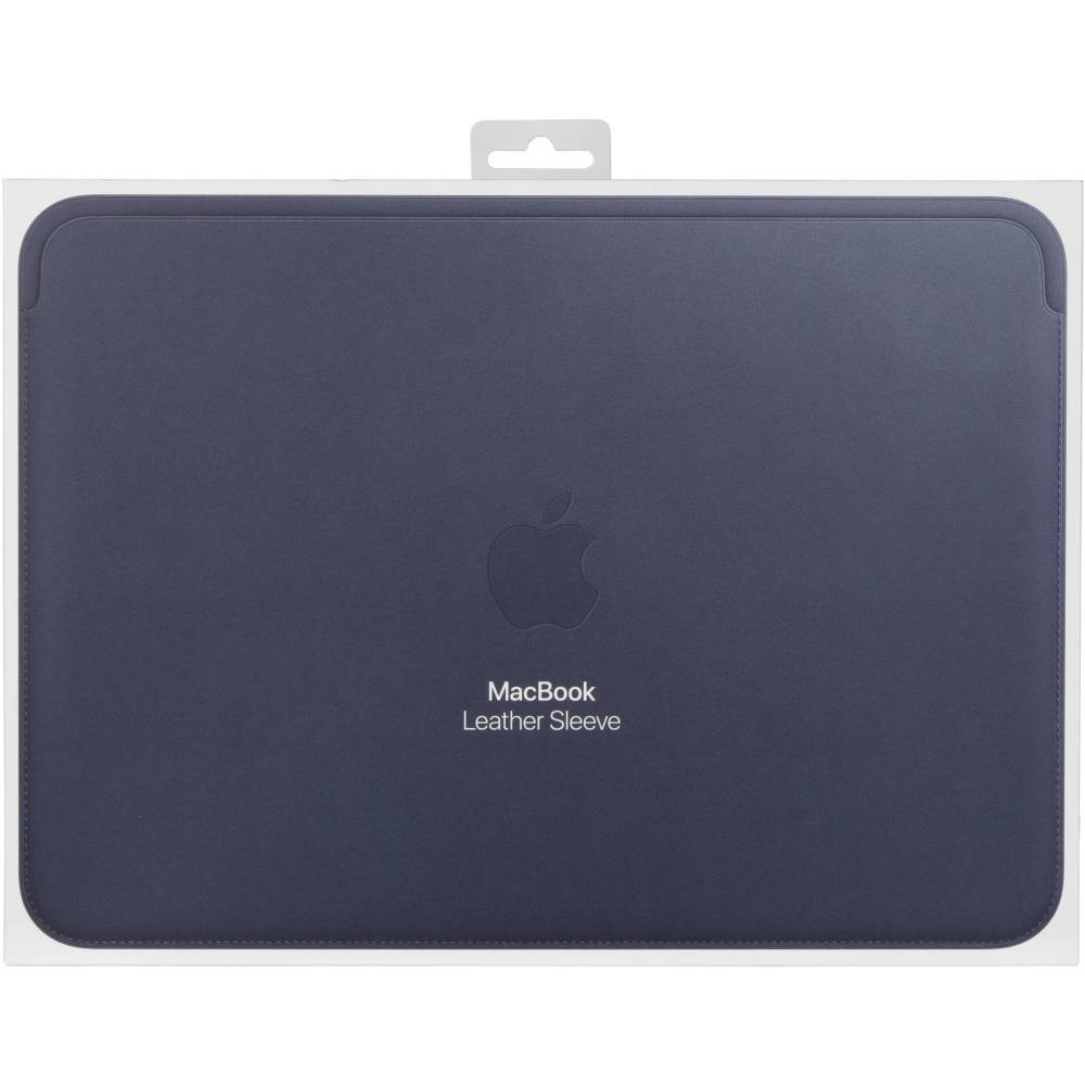 Apple Leather Sleeve 12-inch MacBook Midnight