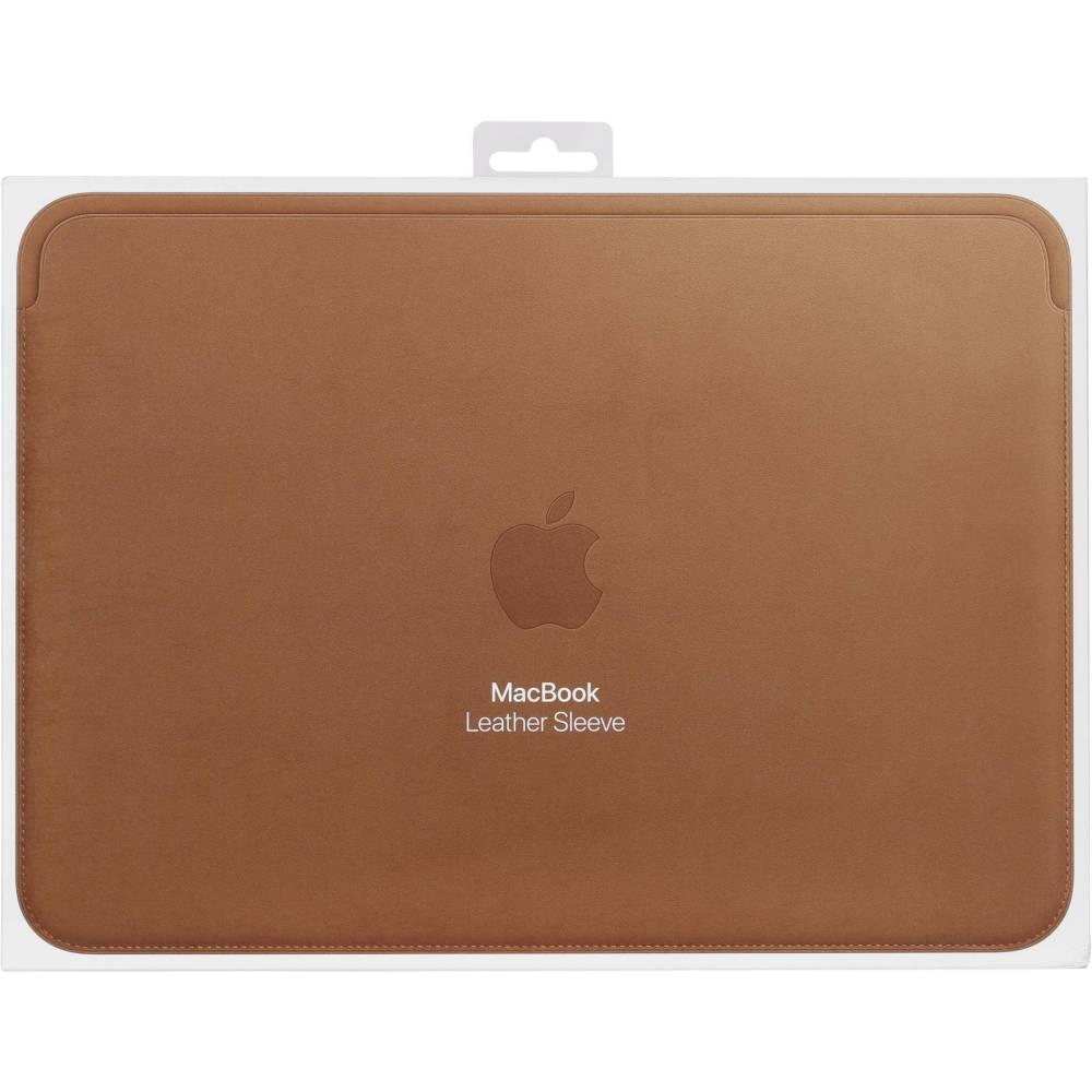 Apple Leather Sleeve 12-inch MacBook Saddle