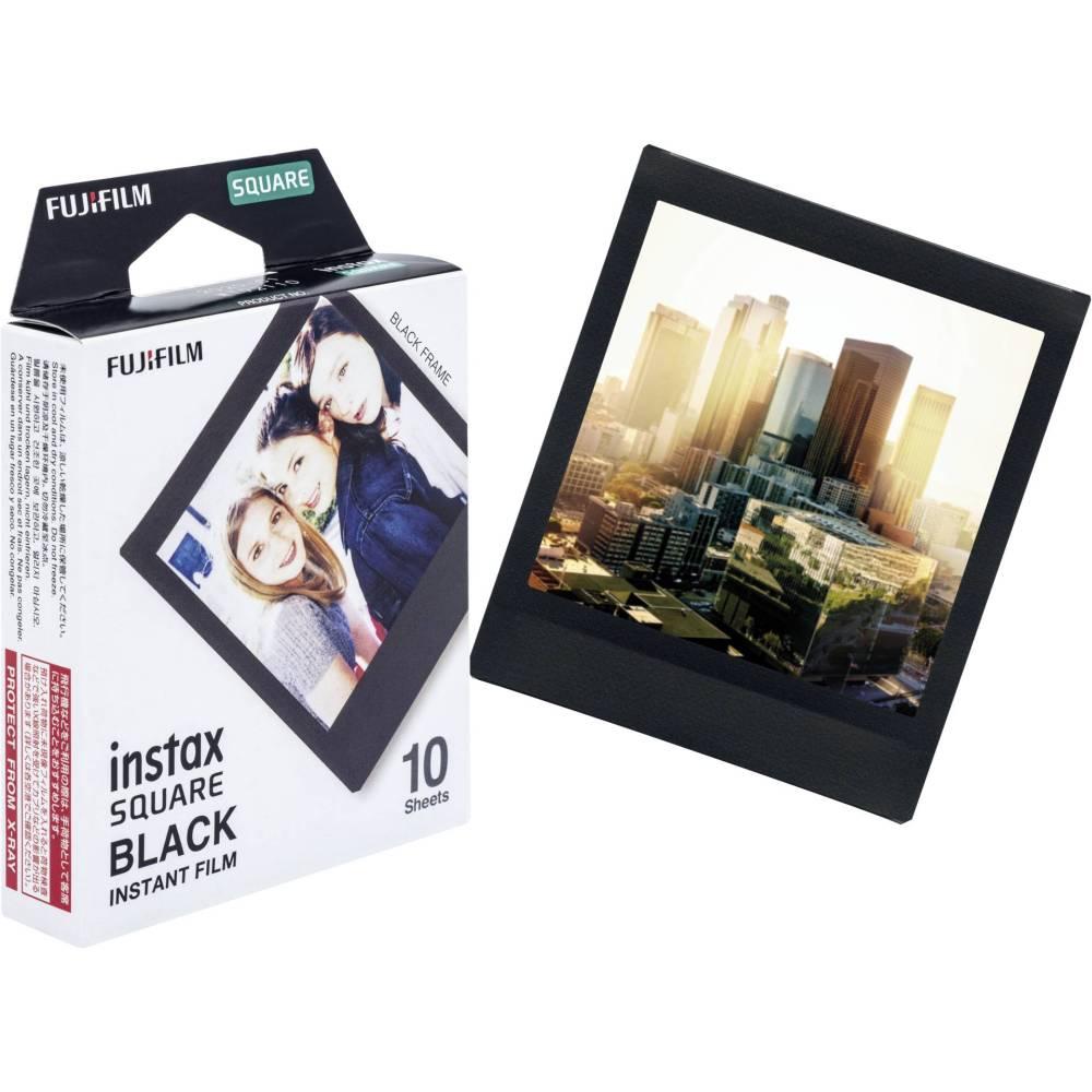 1 Fujifilm Instax Square Film Black